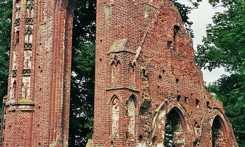 Greifswald, Klosterruine Eldena