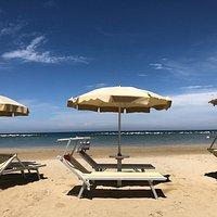 Gepflegte Strandanlage, sehr nette Bademeister, tolle Lagebund wunderschöner Blick ☀️🏖
