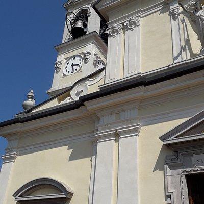 I decori della facciata (particolare)