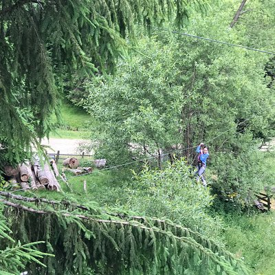 Tree Adventure Park Fundatica