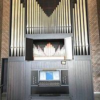 Die Orgel ist sehr schön
