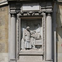 Détail du monument, j'ai adoré car c'est du relief et vraiment l'impression que c'est un cadre