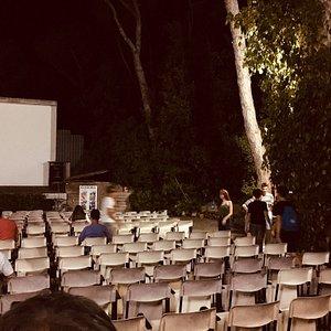 Cinema all'aperto a Marina di castagneto Carducci