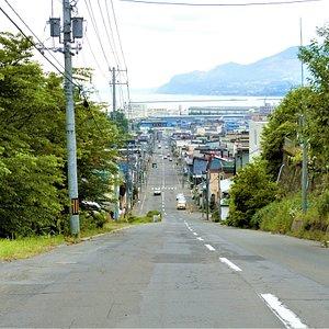 薬師神社の坂~2