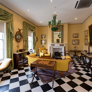 image from inside Fairhall exhibition-house. courtesy of Luts Photography