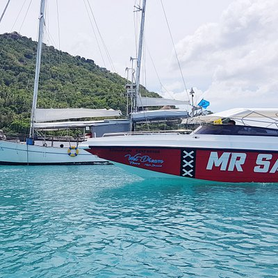 S.Y. Sea Fun & Mr. Samui Speedboat