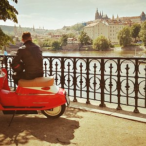 Čezeta (pronounced Chuh-zeh-tuh) is the most iconic Czech motorcycle. A celebration of individuality, independence and the pursuit of pleasure since 1957, Čezeta remains the most chic companion on Prague's city streets and parks.