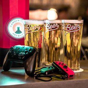 Good old beers and video games.