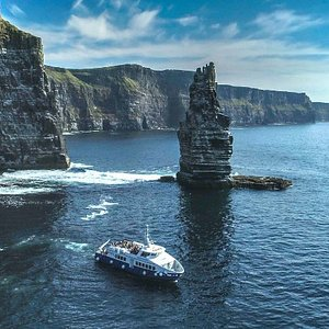 Amazing views of the Cliffs of Moher on the Star of Doolin