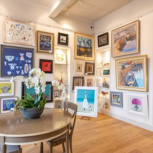 Natural light in the gallery enables our customers to view art work at it's very best.