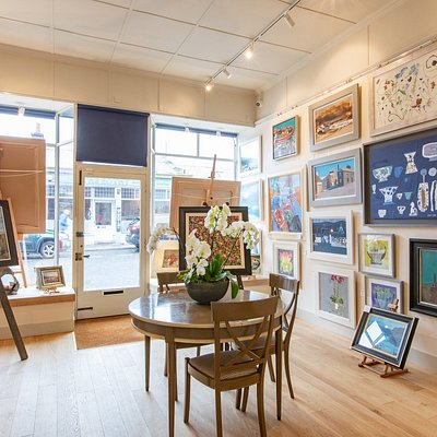 Our Gallery space offers a bright airy space to enjoy work from some of Scotland's most esteemed artists.