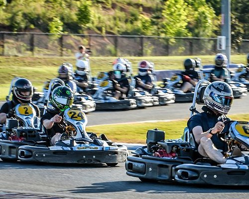 Go-karting at its finest.