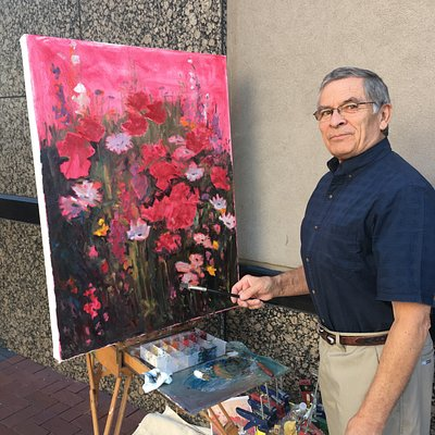 The paintings by John Horejs are more than beautiful, they take your mind to a place of great joy and tremendous beauty.