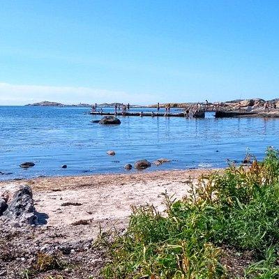 Lappesands badplats på Hönö