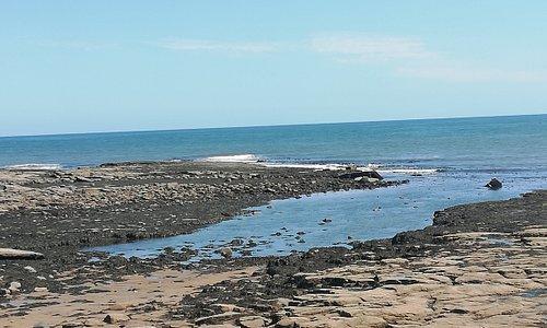 Beach view nearby maritime centre