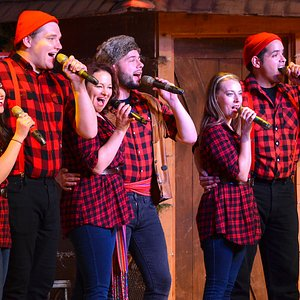 See Singing Mounties, Lumberjacks, Anne Of Green Gables, Hockey Players, Klondike ladies and so much more in this Canadian themed Musical.  Now celebrating our 25th Anniversary.  Eh?!