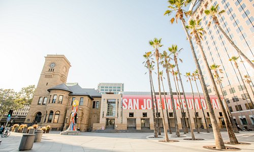 The San José Museum of Art is open Tuesday through Sunday from 11am - 5pm and open 8pm or later on the third Thursday and first Friday of every month.   Admission is $10 for adults, $8 for seniors, and free to members, college students, youths and children 17 and under, and school teachers. Full details can be found at sjmusart.org/hours-and-admission.  Photo by Gary Sexton Photography.