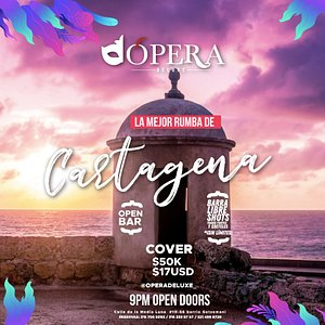 Cartagena has the best party place in town ¿You want party? ¡This is your place!