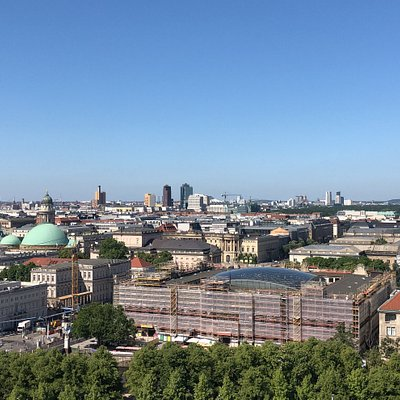 As seen from the top of the Berlin Dom