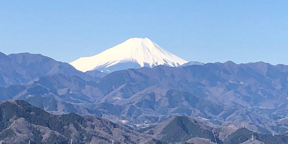 Mt. fuji view from Mt. takao