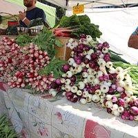 Farm fresh veggies and organic too!
