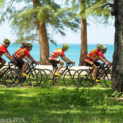Enjoy our guided (private or join) half day bicycle tours in Phuket