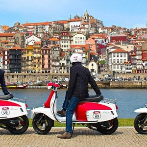 The best viwe of Porto, by Scooter us