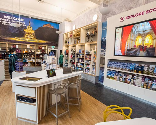 Our brand new iCentre on the High Street offers great information for tourists and lovely gifts