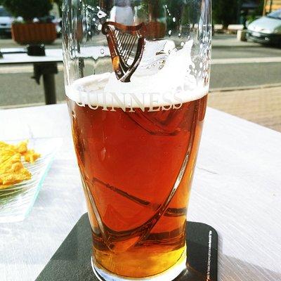 Guiness IPA bière du moment ..