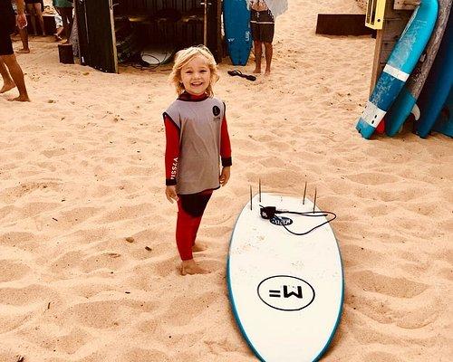 Des cours de surf à partir de 5 ans
