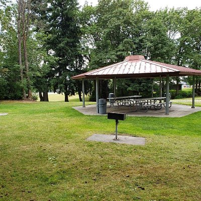 picnic area and barbecues