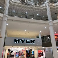 The entrance lobby of Myer