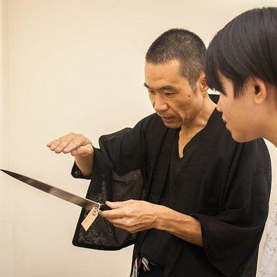 Explain Japanese knife