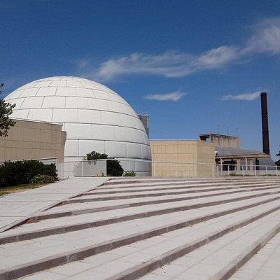 Vista exterior del Planetario
