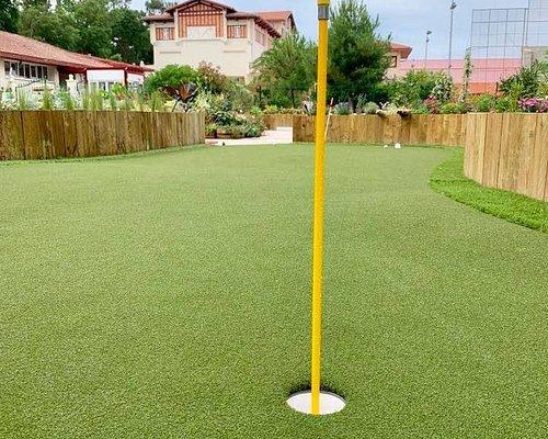 Mini Golf Hossegor, lucky number 13