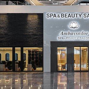 Istanbul Airport-Spa & Beauty Salon-Entrance