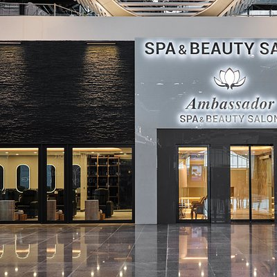 Istanbul Airport-Spa & Beauty Salon-Entrance