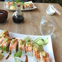 Beste sushi vi har smakt!