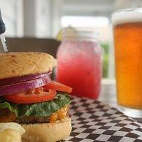 Mockingburger & Local Beer