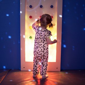 Fun in the sensory room for our younger guests aged 3 and under.