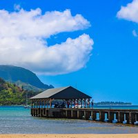 The pier at Hanalei