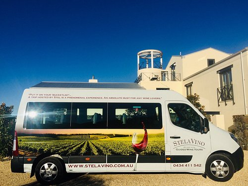 Travel comfortably in StelaVino Guided Wine Tours 12 Seater Renault Masterbus