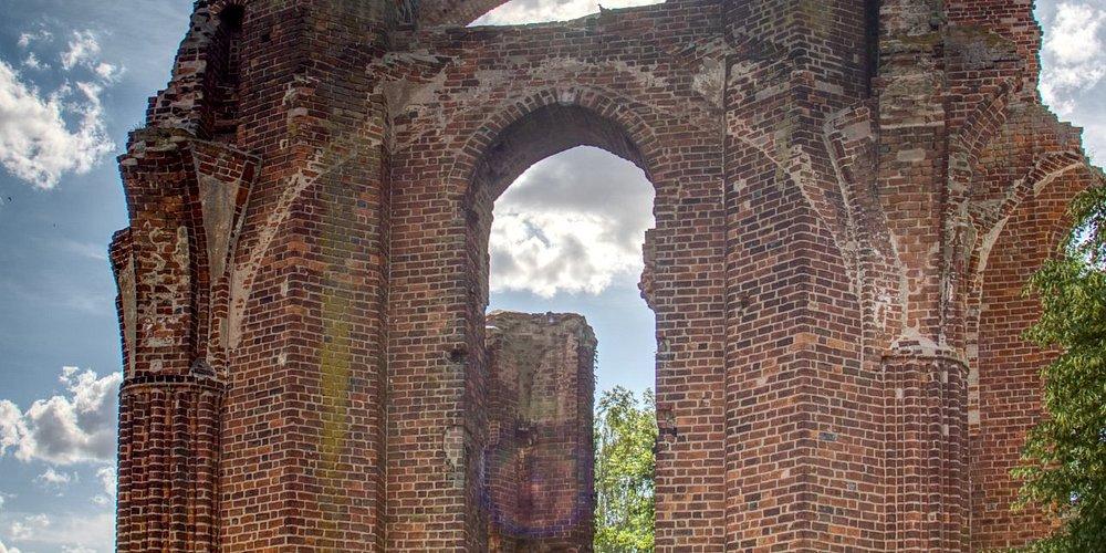 Klosteruine Gramzow in der Uckermark.