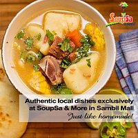 Authentic local dishes exclusively at SoupSa & More in Sambil Mall Curacao