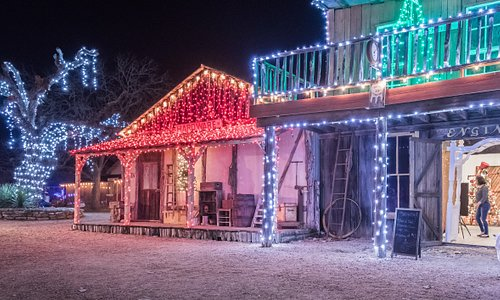 The Old West sparkling for the holidays