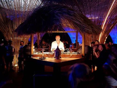 DJ David Morales on decks @ Black Amber Club #SummerEvent