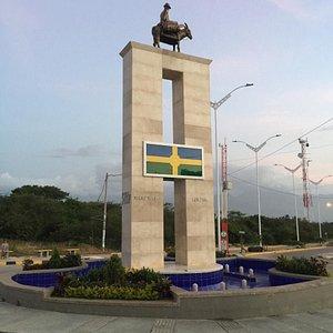 Monumento al agricultor dibullero