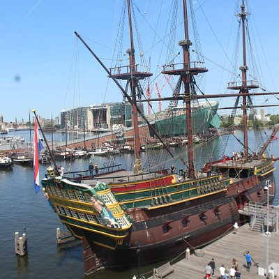 The replica of the Amsterdam