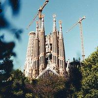 Hay construcciones monumentales sin terminar que merecen una visita, y la Sagrada Familia es una de ellas. Gaudí fue el artífice de este icono de la arquitectura modernista de Barcelona, cuyo interior nos hace sentir como si estuviéramos bajo las copas de un frondoso bosque ❤️(Photo by Jose Llamas on Unsplash)