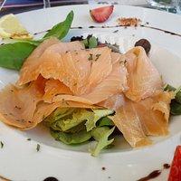 le saumon fumé (une merveille !)